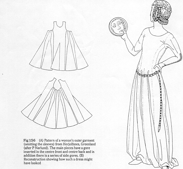 Dame Helen - Cotehardies from Greenland Gowns - Evidence
